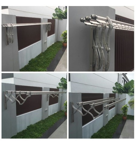 WALL MOUNTED LAUNDRY SYSTEM WM 2.7M(9')